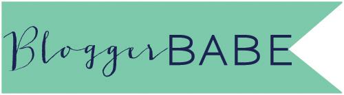 blogger babe header