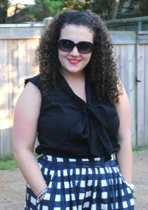 nikki from the fashionable white and co-founder of the blogger collective