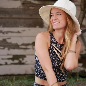 shannon from upbeat soles, ambassador for the blogger collective