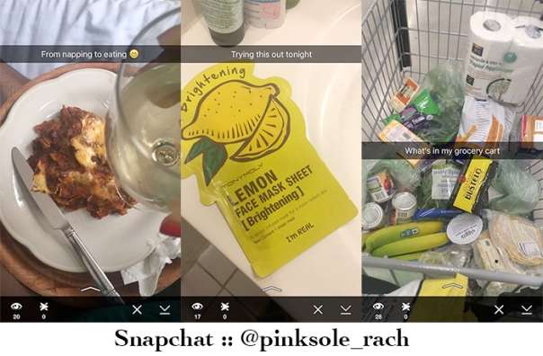 snapchat examples from pinksole