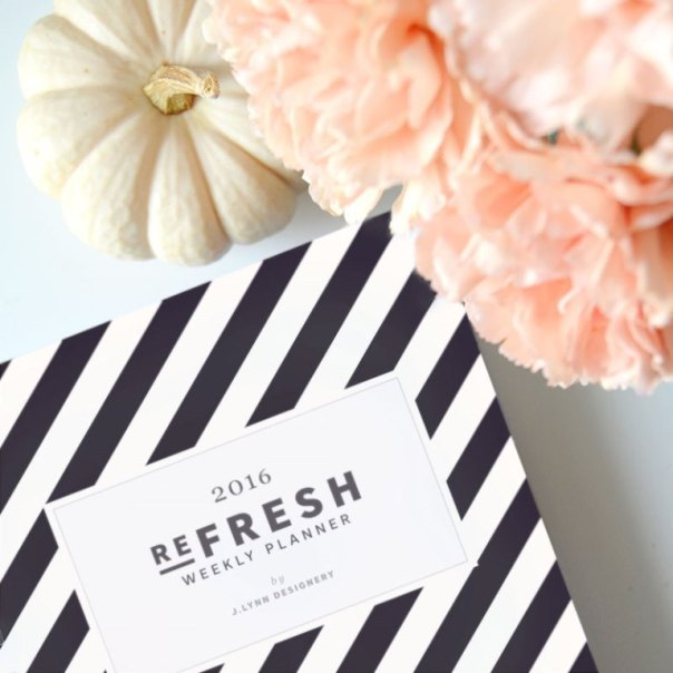 refresh weekly planner by j.lynn designery